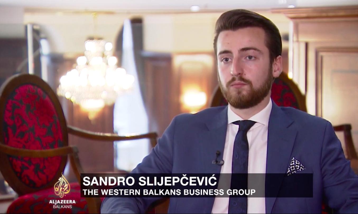 Interview in Sarajevo on Al Jazeera Balkans